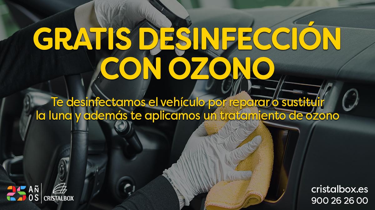 desinfección ozono gratis cristalbox